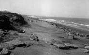 Barmston, The Beach c.1955