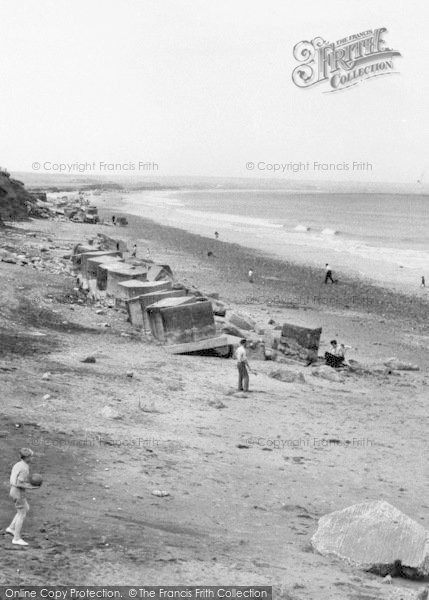 Photo of Barmston, The Beach c.1960