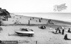 Barmston, The Beach c.1960