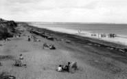 Barmston, The Beach c.1960