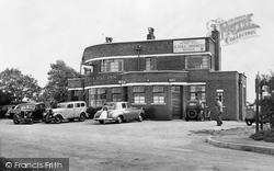 Barmston, The Black Bull Inn c.1955