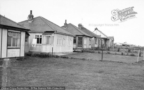 Photo of Barmston, The Bungalows, South Cliff c.1955