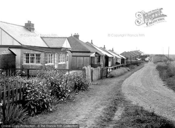 Barmston, The Bungalows, South Cliff c.1965