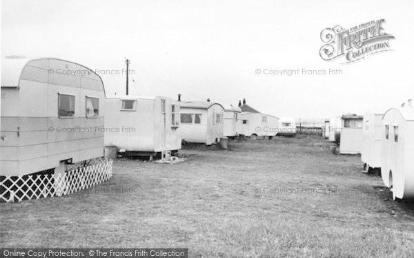 Photo of Barmston, The Caravan Site c.1955