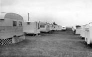 Barmston, The Caravan Site c.1955