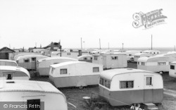 Barmston, The Caravan Site c.1960