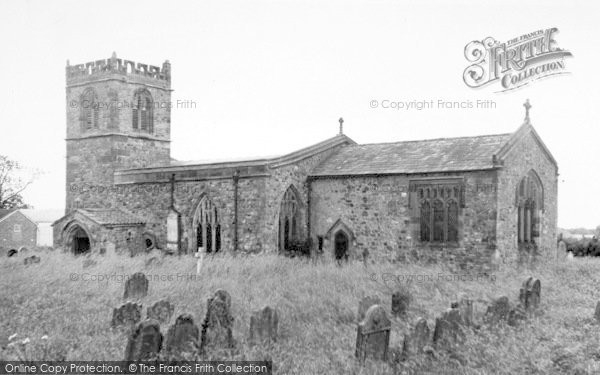 Photo of Barmston, The Church c.1960