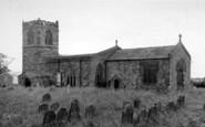 Barmston, The Church c.1960