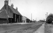 Barmston, The General Store And Main Street c.1960