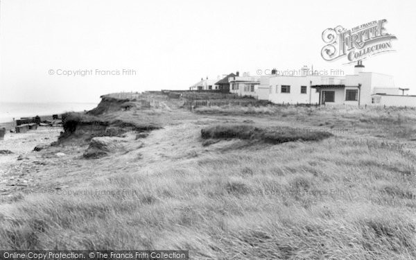 Photo of Barmston, The North Cliff Bungalows c.1955