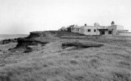 Barmston, The North Cliff Bungalows c.1960