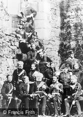 Barnard Castle, 1st South Durham Militia c1860