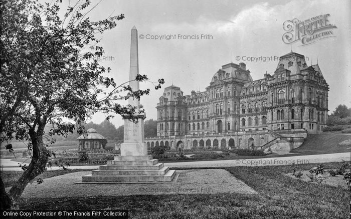 Barnard Castle, Bowes Museum And War Memorial 1929
