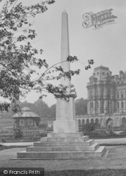 Barnard Castle, Bowes Museum War Memorial 1929