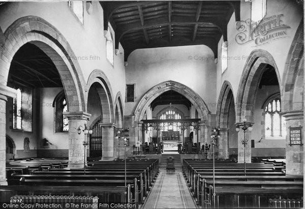Barnard Castle, Church Interior 1914