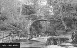Barnard Castle, Dairy Bridge c.1932