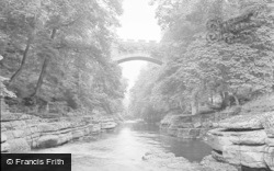Barnard Castle, Egglestone Abbey Bridge 1951