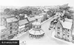 Barnard Castle, From The Church Tower c.1950