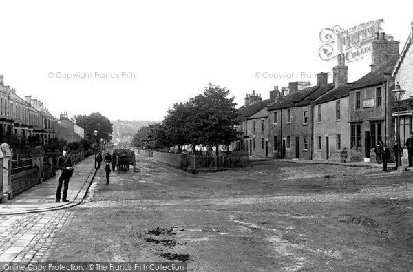 Photo of Barnard Castle, Galgate West 1892