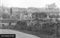 Barnard Castle, General View c.1932