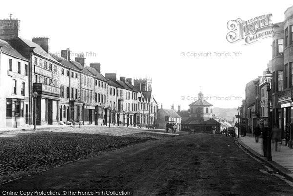 Photo of Barnard Castle, Market Place 1892