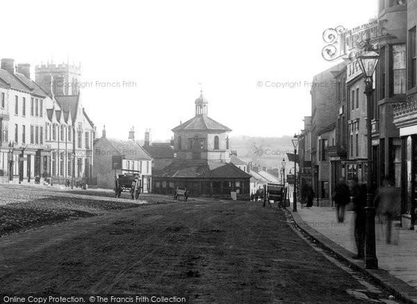 Barnard Castle, Market Place 1892