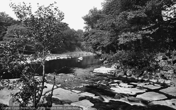 Barnard Castle, Meeting Of The Waters, Greta And Tees 1914