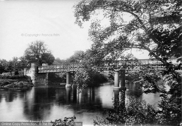 Barnard Castle, New Bridge 1898