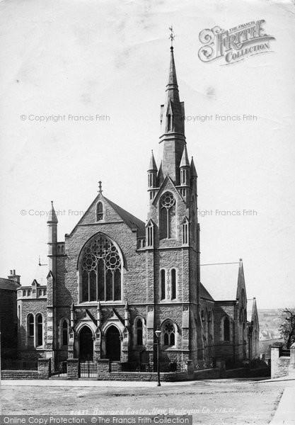 Barnard Castle, New Wesleyan Church 1898