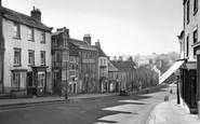 Barnard Castle, Old Houses, The Bank c.1960
