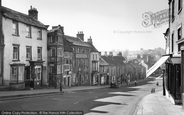 Photo of Barnard Castle, Old Houses, the Bank c1960, ref. b23178