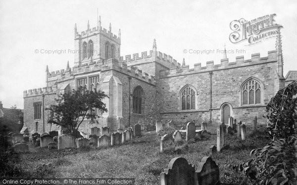 Barnard Castle, St Mary's Parish Church 1892