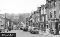 Barnard Castle, The Bank c.1960