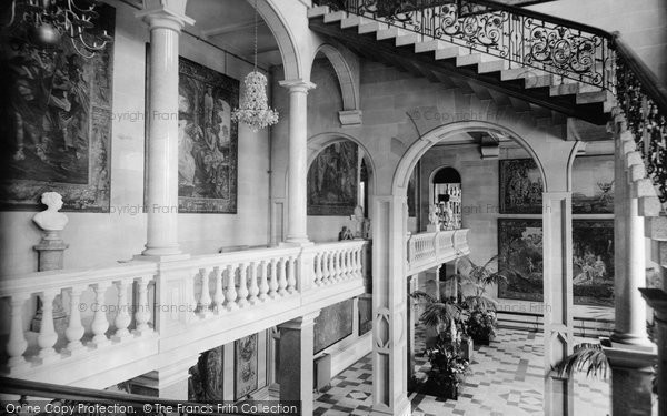 Photo of Barnard Castle, the Bowes Museum, Balcony 1914, ref. 67179
