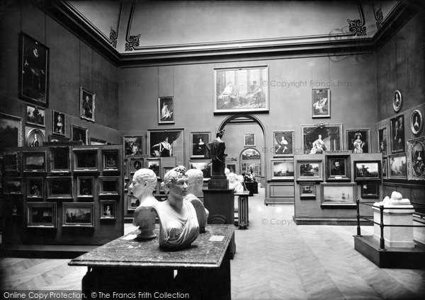 Photo of Barnard Castle, the Bowes Museum, Picture Gallery 1914, ref. 67180