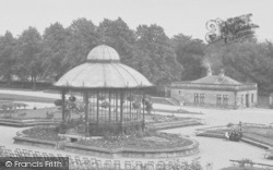 Barnard Castle, The Bowes Museum, The Bandstand 1914