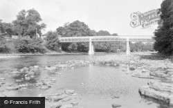 Barnard Castle, The Bridge 1951