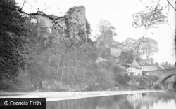 Barnard Castle, The Castle c.1932