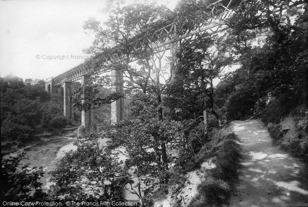 Barnard Castle, The Tees Viaduct 1892