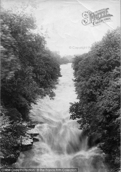 Barnard Castle, View From Abbey Bridge 1892