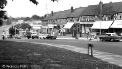 Barnehurst, Courtleet Parade c.1965