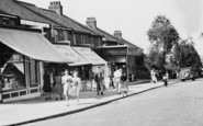 Barnehurst, Midfield Parade Shops  c.1955