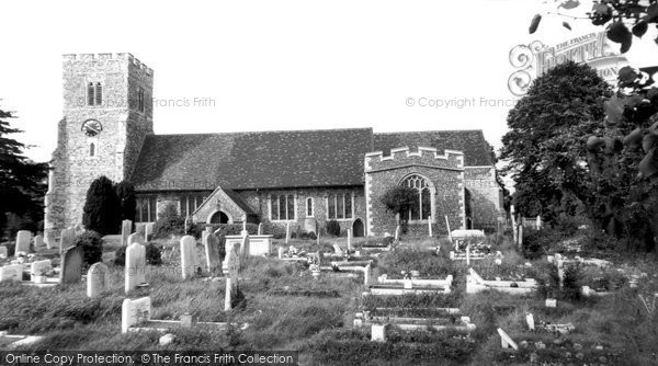 Photo of Barnehurst, St Paulinus Church c.1955