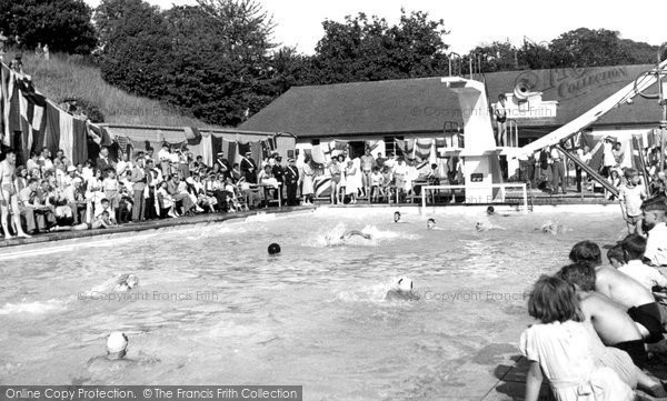 Photo of Barnehurst, Swimming Pool c1955