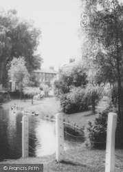 Barnes, By The Pond c.1965