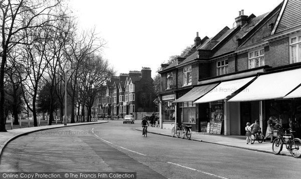 Photo of Barnes, Church Road c1965