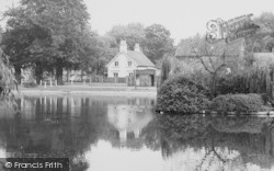 Barnes, Houses By The Pond c.1960