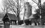 Barnes, St Mary's Church c.1965