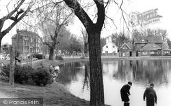 Barnes, The Pond c.1965