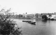 Barnes, The Thames c.1960